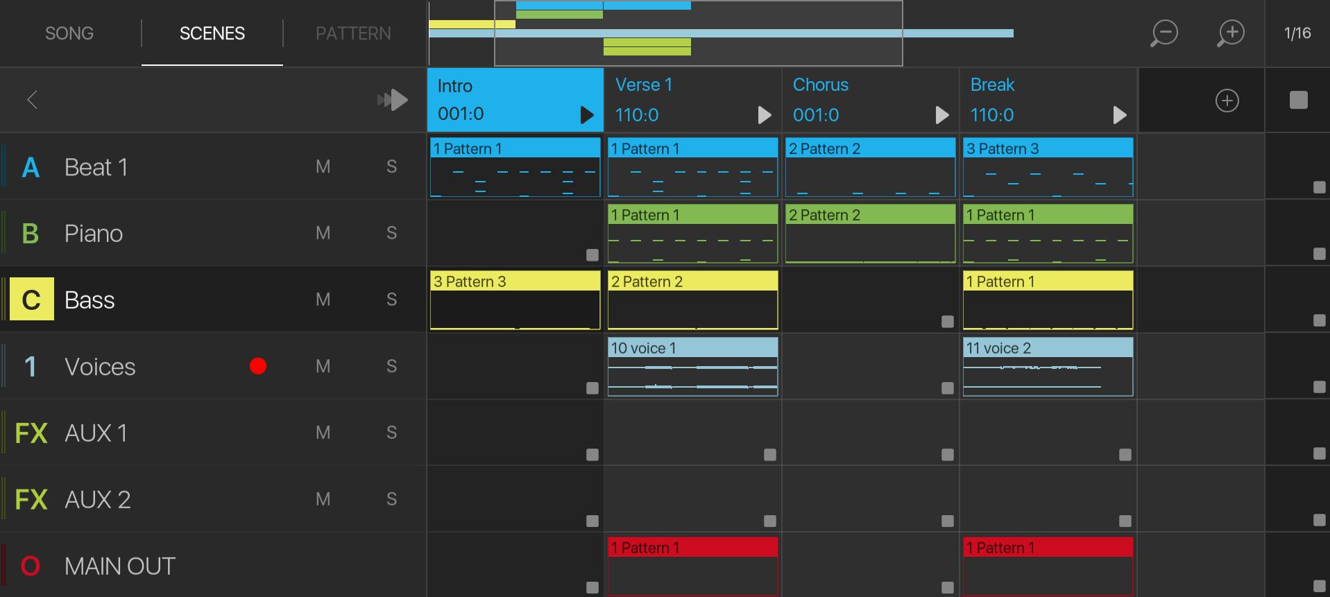 Sequencer View – BeatMaker Support